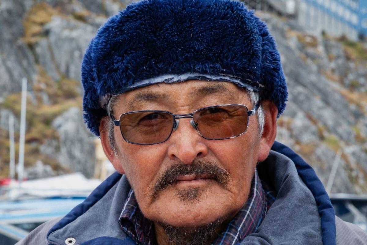 Johannes Heilmann on kalastaja Grönlannin Nuukista