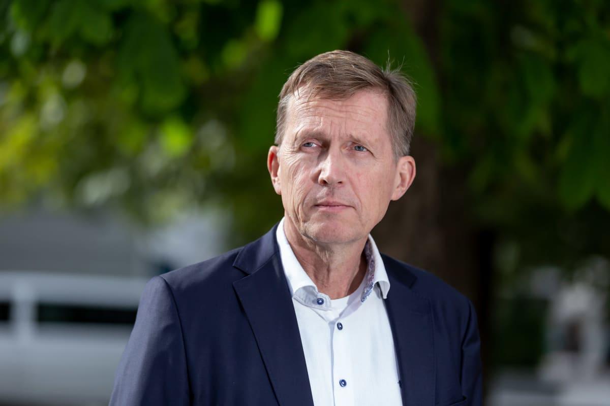Akavan pääekonomisti Pasi Sorjonen, Helsinki, 24.9.2019.