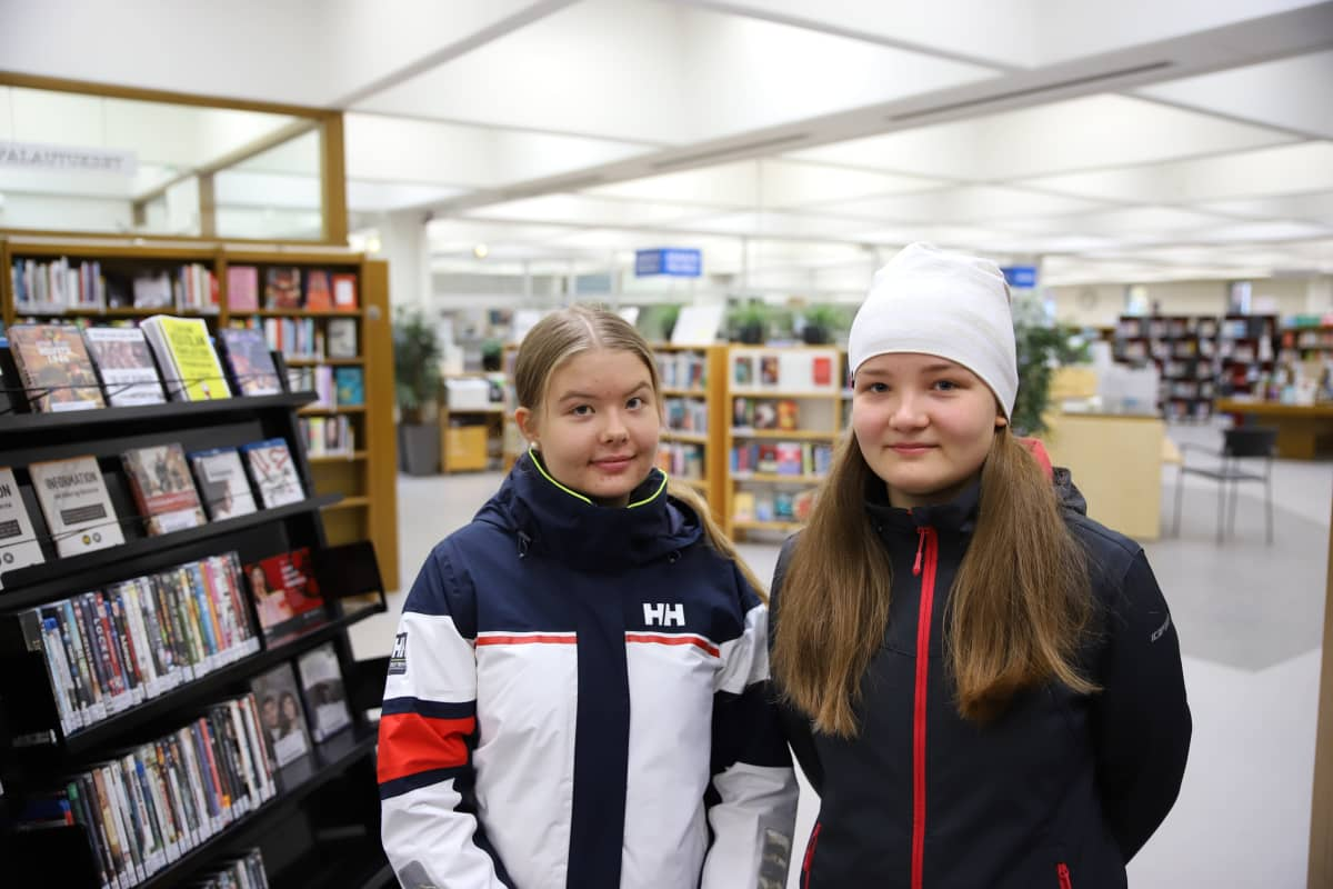 Erika Liiri ja Emilia Kielenniva