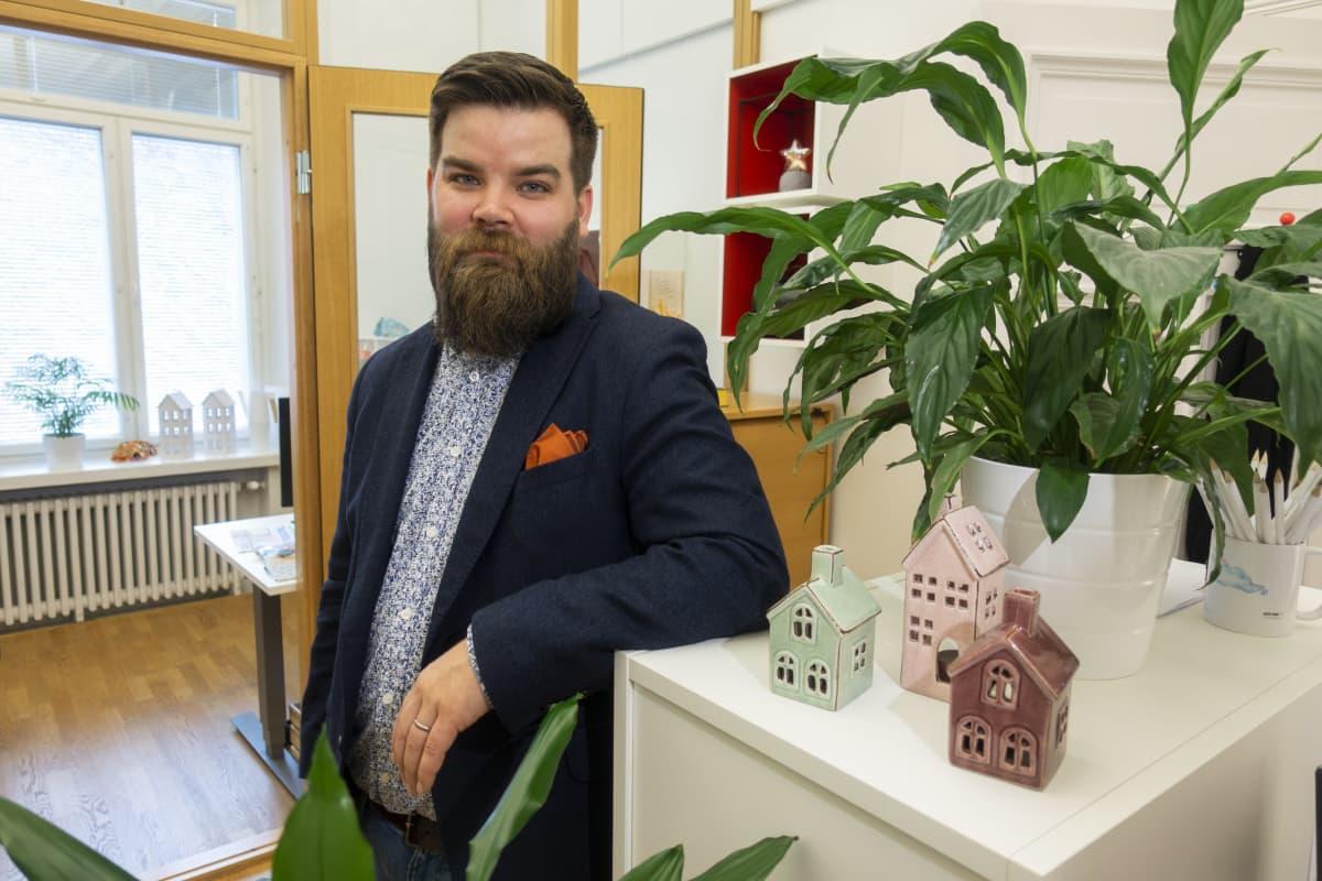Tuomas Viljamaa, yhteiskuntajohtaja Suomen vuokranantajat.