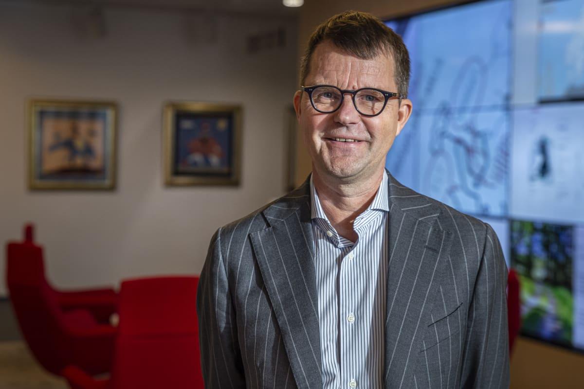 Jukka Ruusunen toimitusjohtaja Fingrid ja puheenjohtaja Huoltovarmuusneuvosto