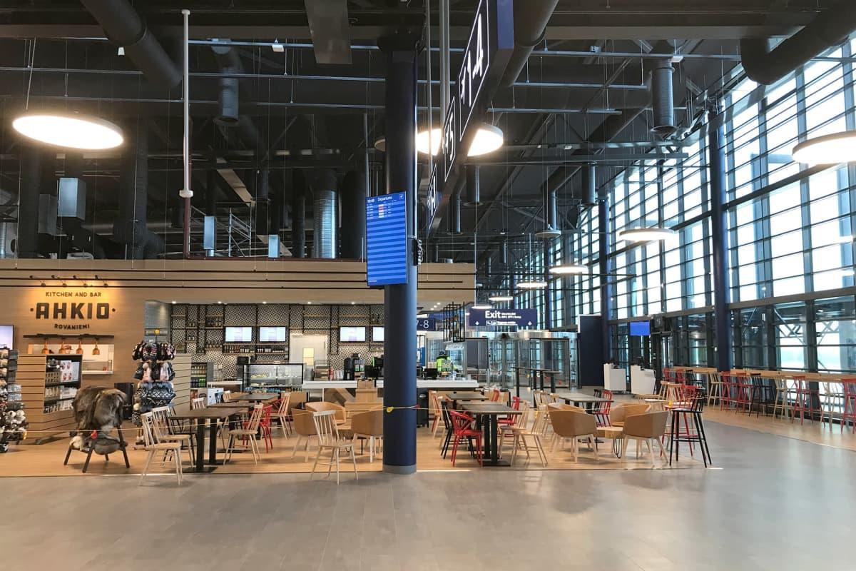 Rovaniemen lentoaseman laajennus valmistumassa.