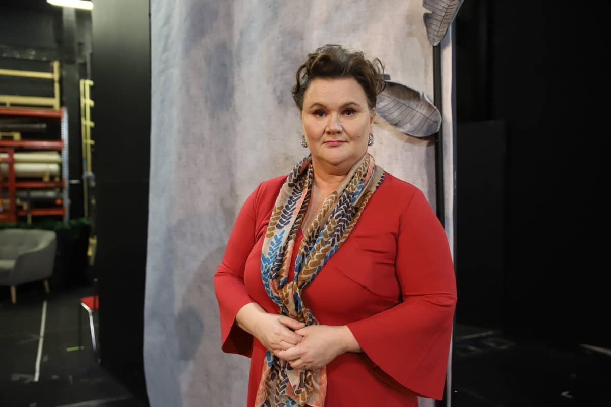 teatterinjohtaja Tiina Luhtaniemi