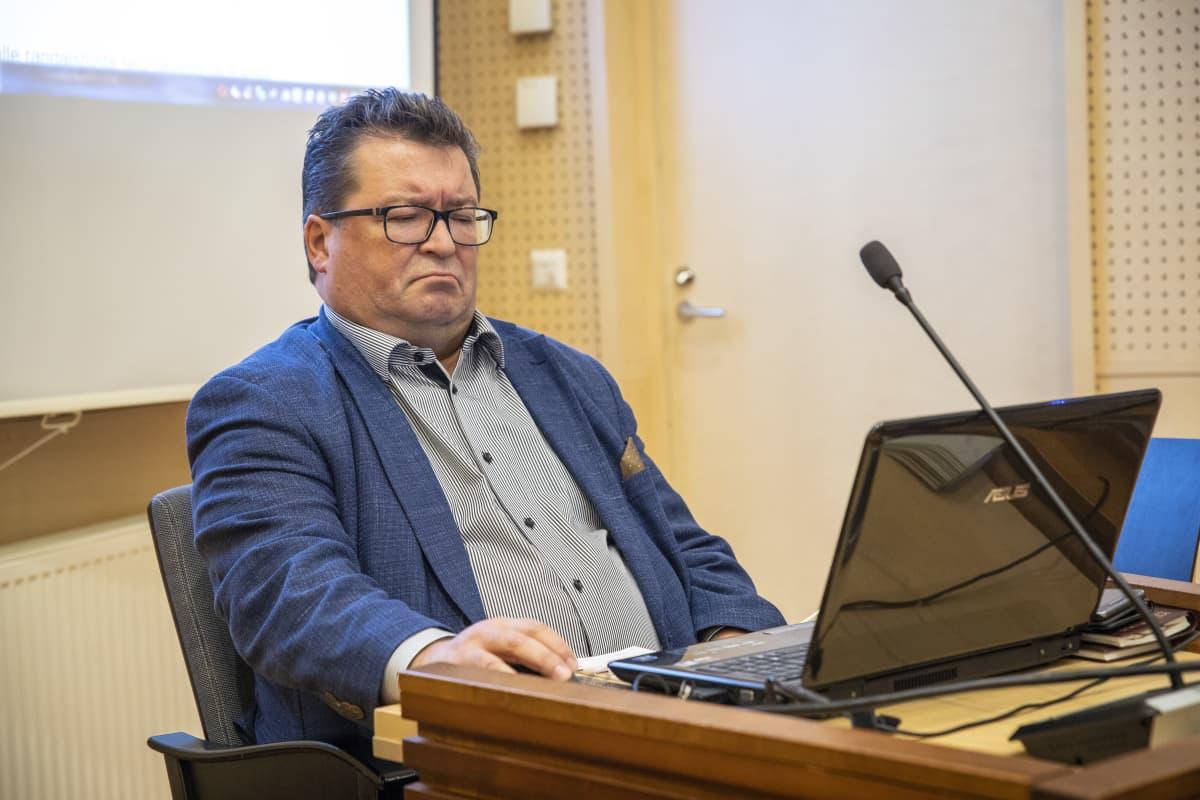 Syyttäjä Reijo Rapo kannabis oikeudenkäynnistä.
