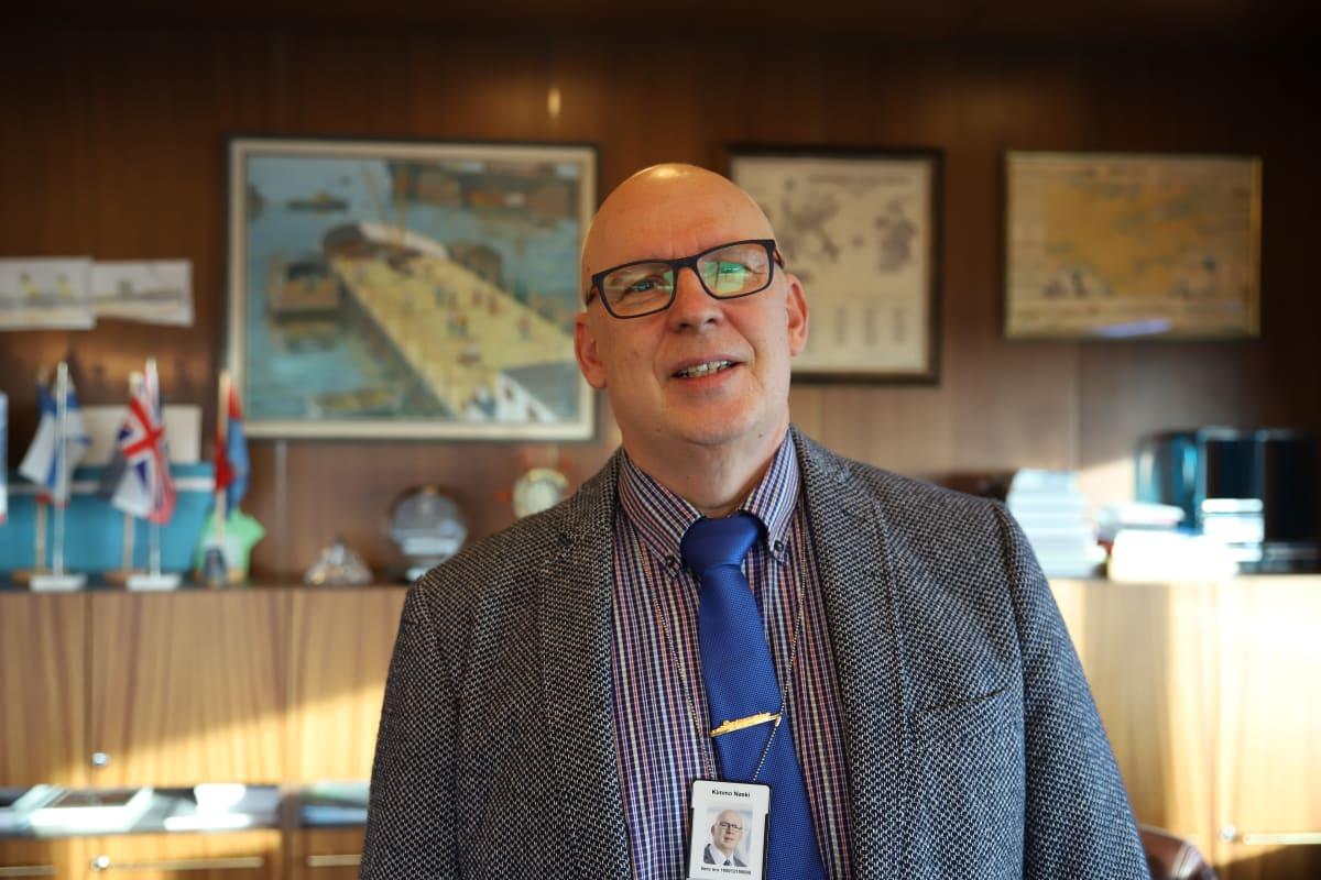 HaminaKotka Sataman toimitusjohtaja Kimmo Naski