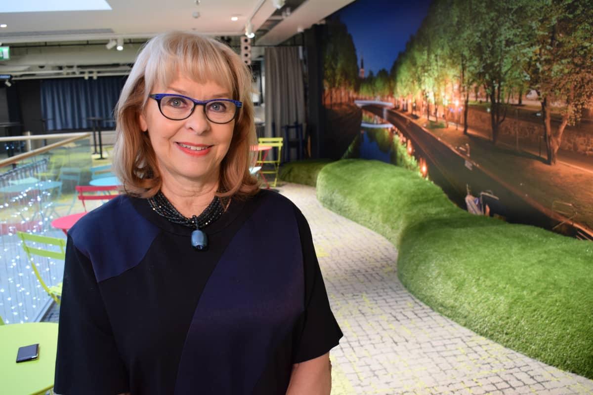 Turun matkailujohtaja Anne-Marget Hellén