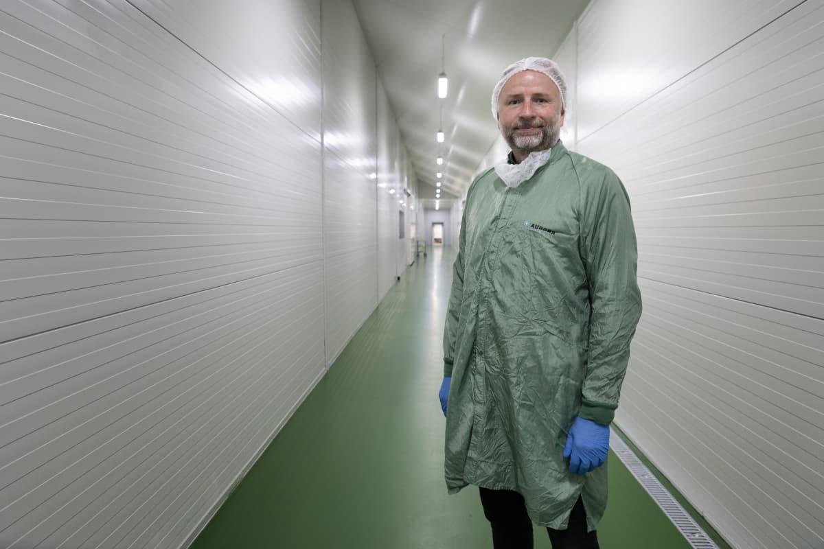 Mads Pedersen, toimitusjohtaja, Aurora Nordic