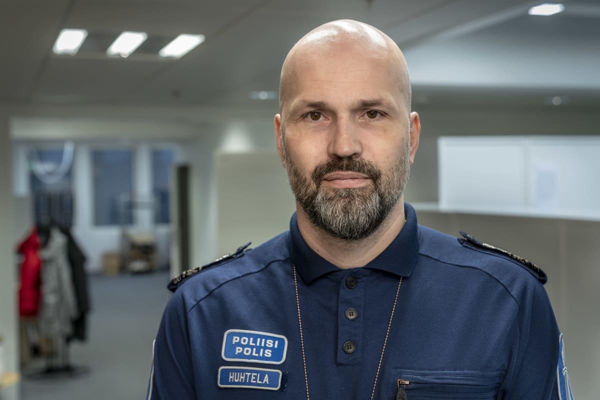 Jussi Huhtela,  ylikomisario, Itä-Uudenmaan poliisilaitos