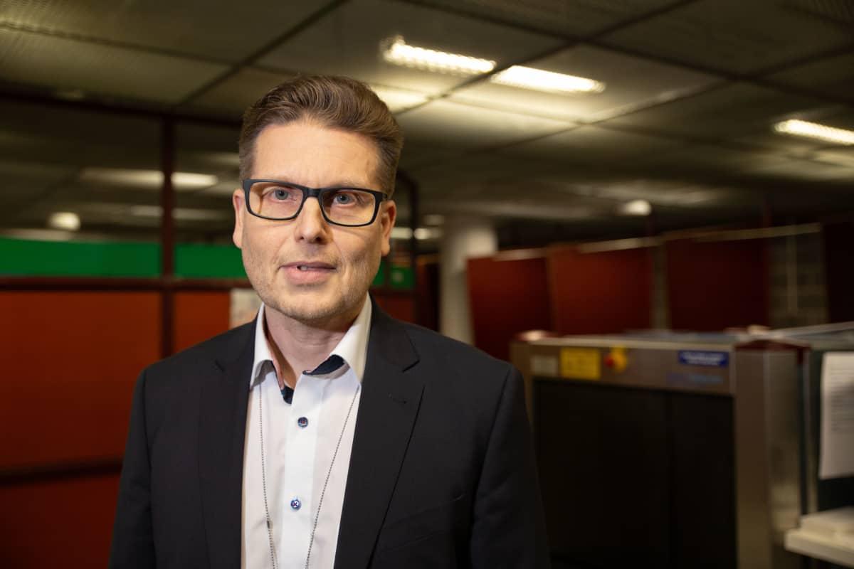 Mikko Grönberg, valvontajohtaja, Tulli