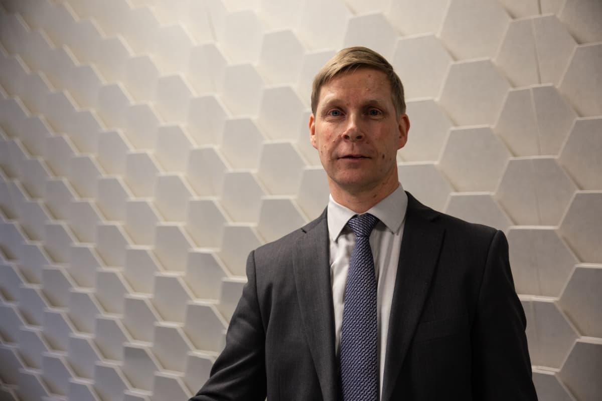 Lasse Jutila, ylitarkastaja, valmisteverotuksen riskivastaava, Verohallinto