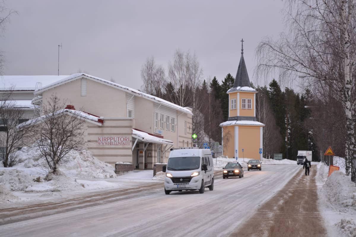 Rautavaaran keskusta.
