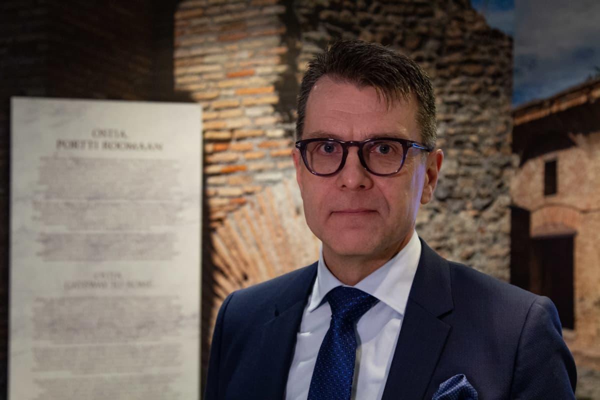 Museoliiton pääsihteeri Kimmo Levä