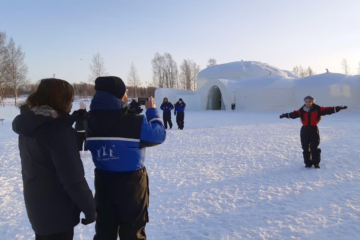Pohjois-Lapin matkailuyritykset tekevät rekrytointihistoriaa