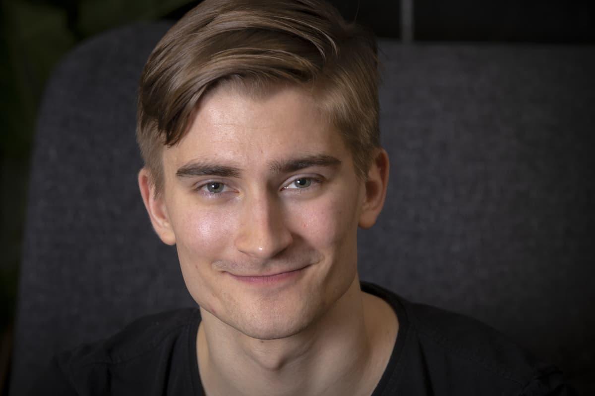 Slushin toimitusjohtaja Miika Huttunen.