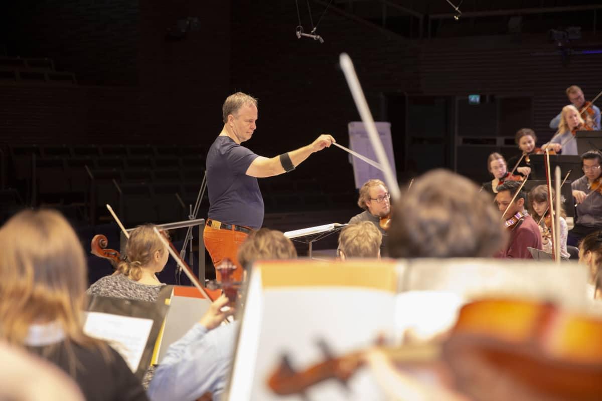 Sibelius-Akatemian orkesteri- ja kapellimestarikoulutuksen professori