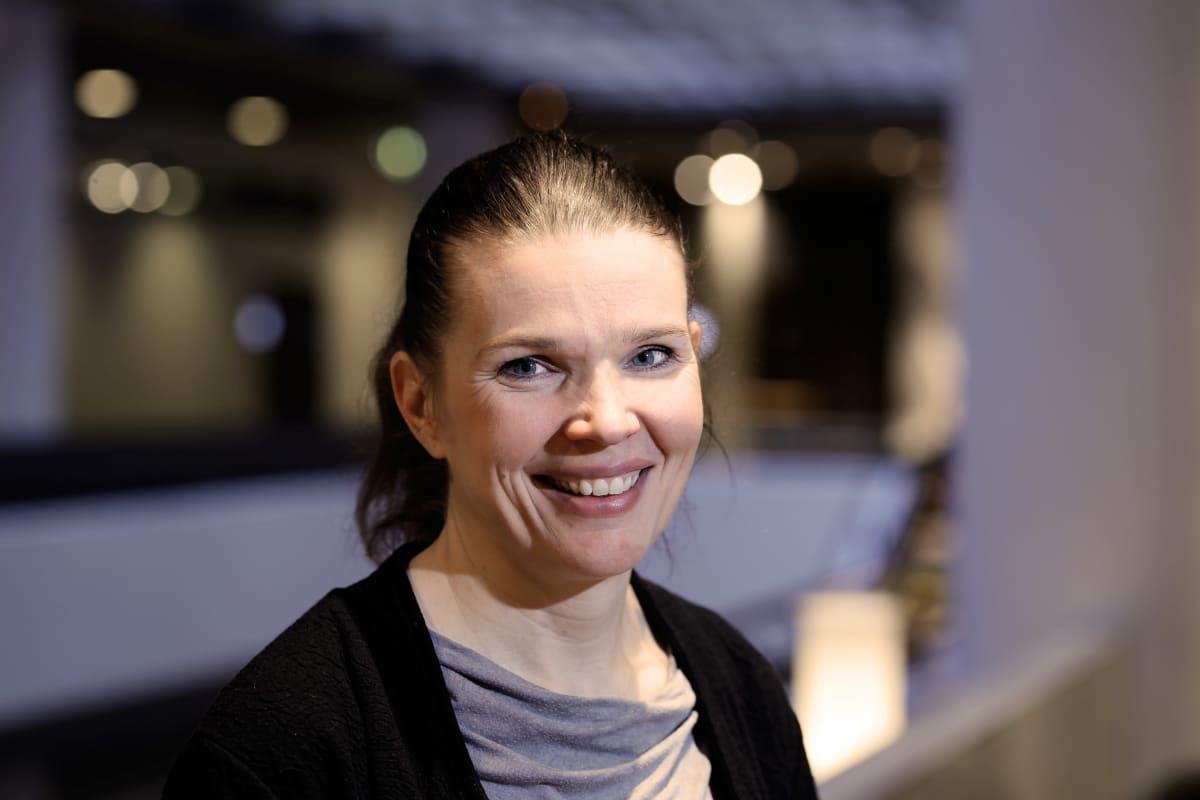 Suomen Olympiakomitean ylilääkäri Maarit Valtonen.