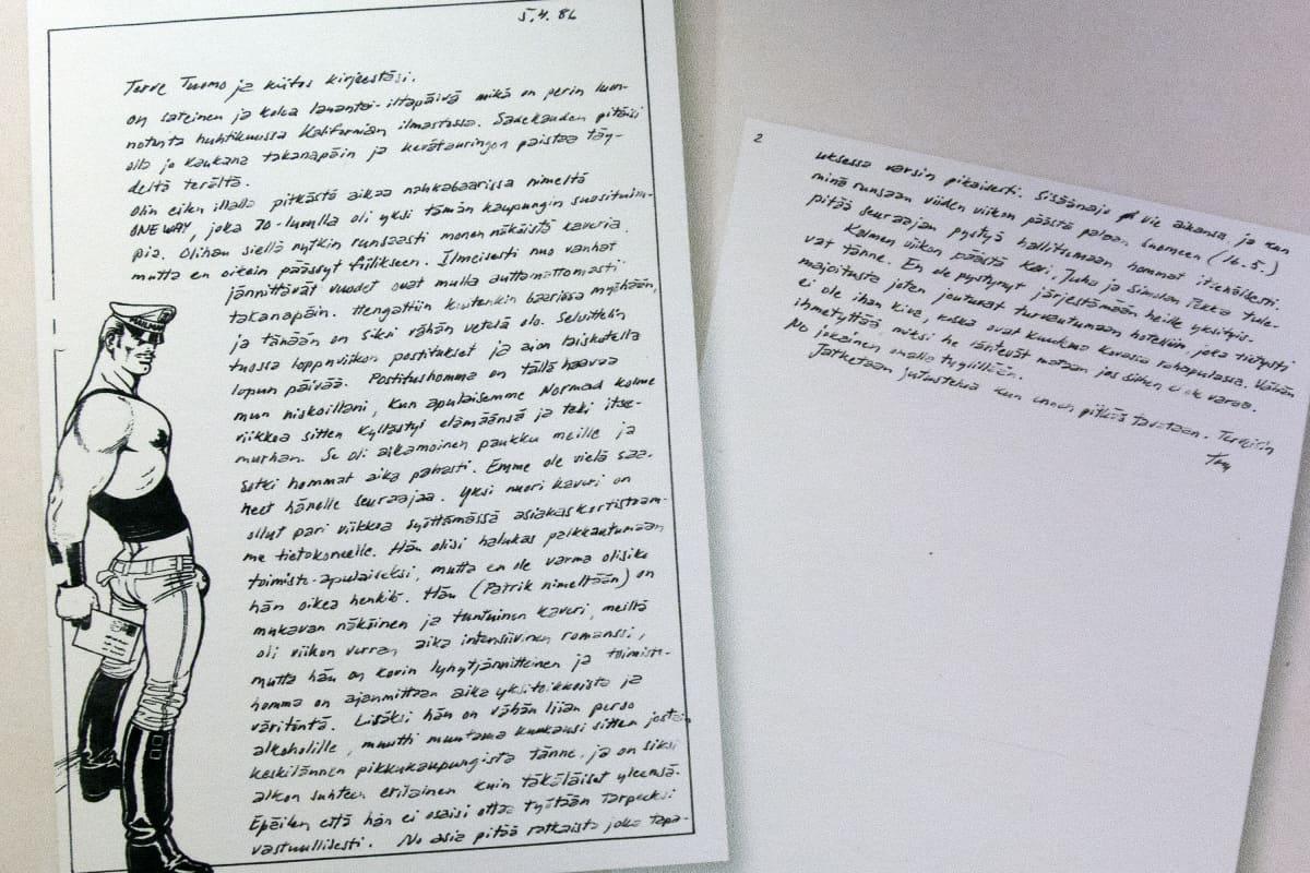 Tom of Finlandin kirje.