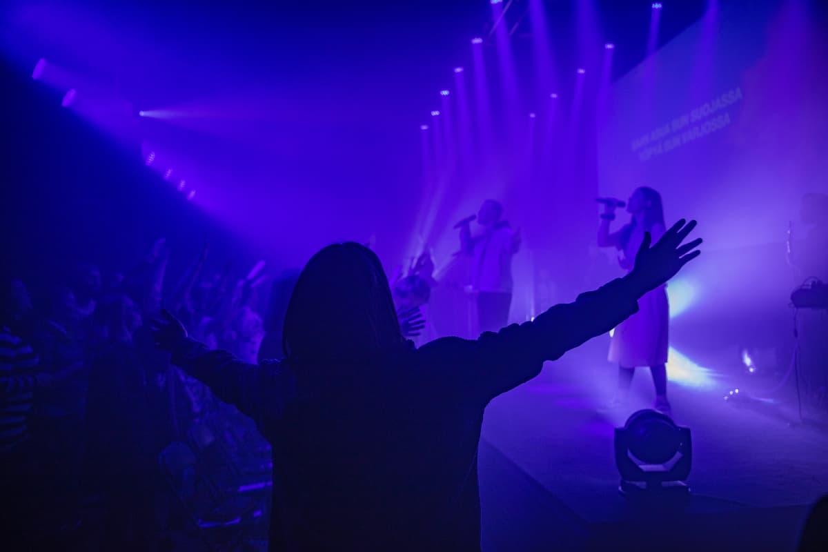 Houm Churchin sunnuntaijumalanpalvelus