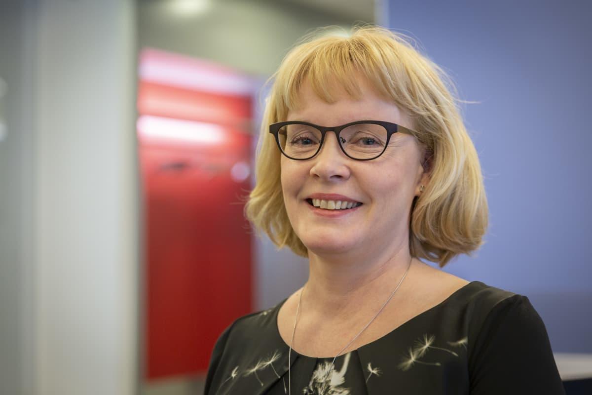 Tehyn Kansainvälisten asioiden päällikkö Sari Koivuniemi.
