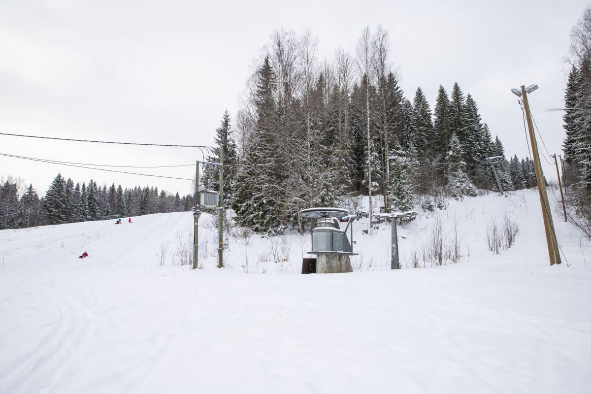 Antikkalan laskettelurinne Kuopiossa