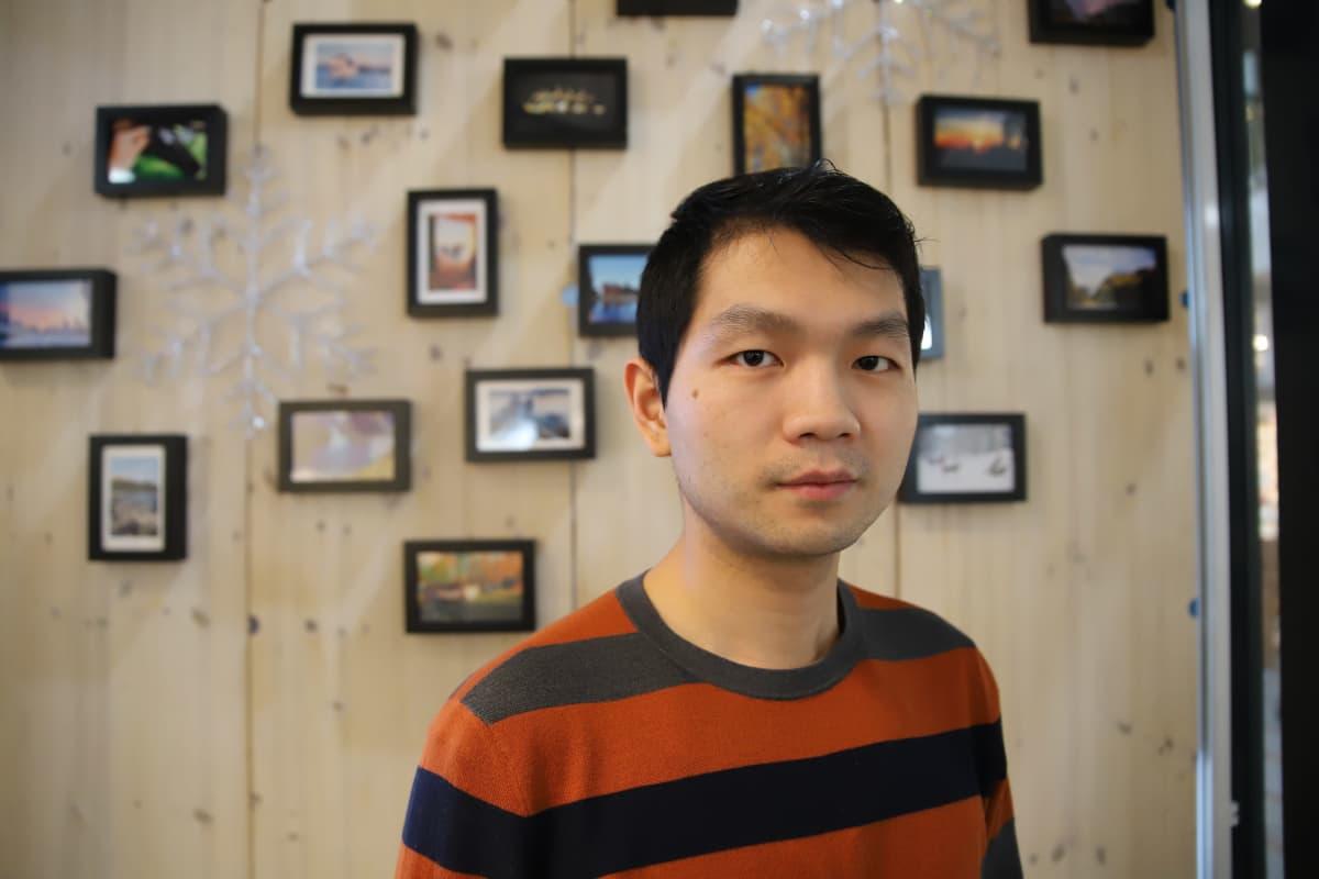 Sunny Safarin toimitusjohtaja Wei Sun