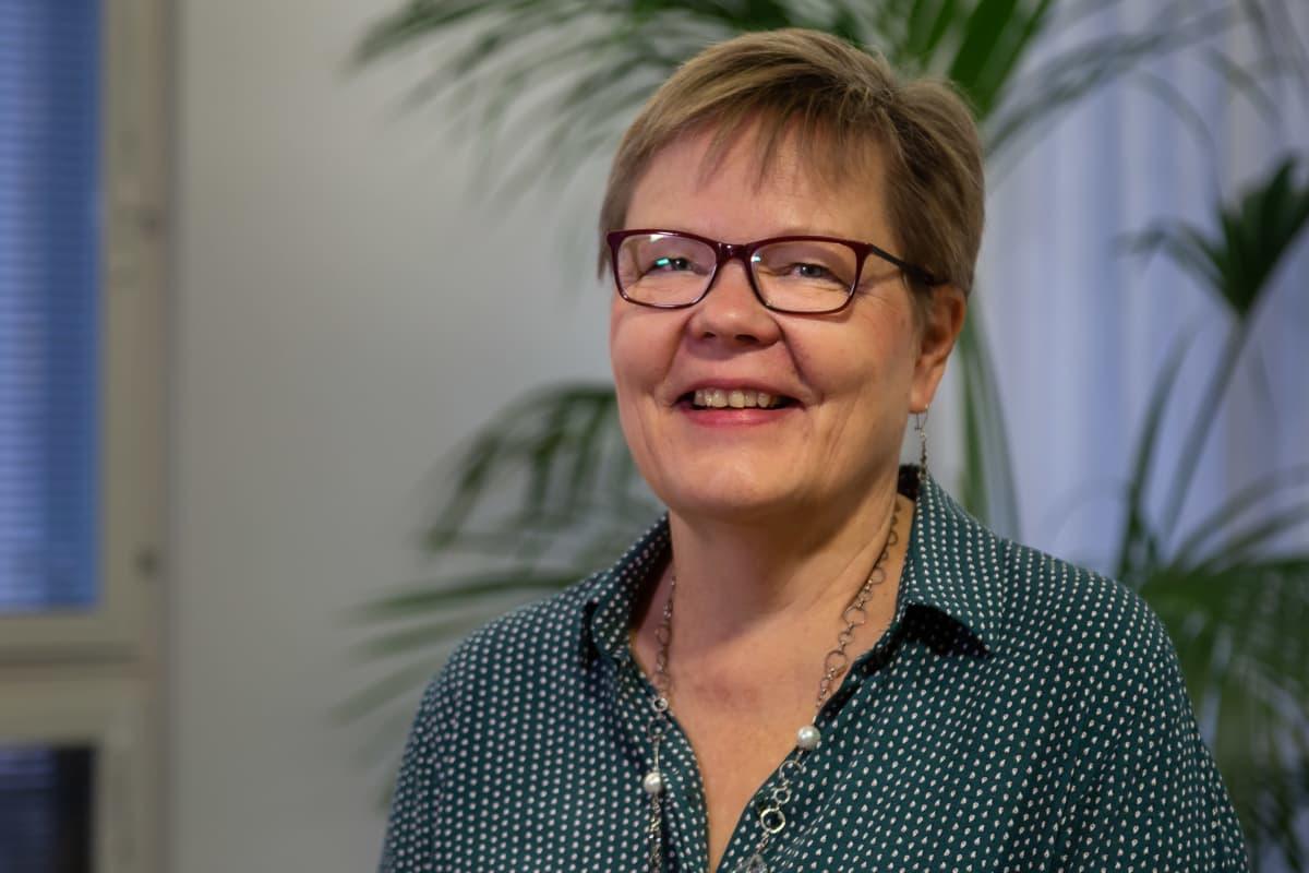 STM:n osastopäällikkö Tuija Kumpulainen.