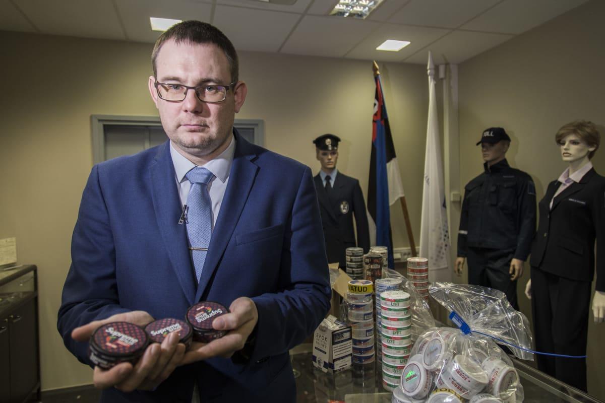 Siim Rudissar , Tullin Tutkinnanjohtaja , Tallinna
