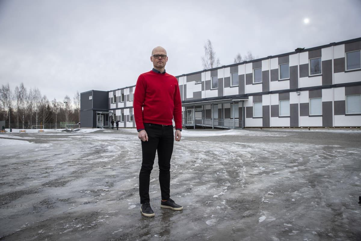 Ahmon yläkoulun rehtori Heikki Pulkkinen, Siilinjärvi
