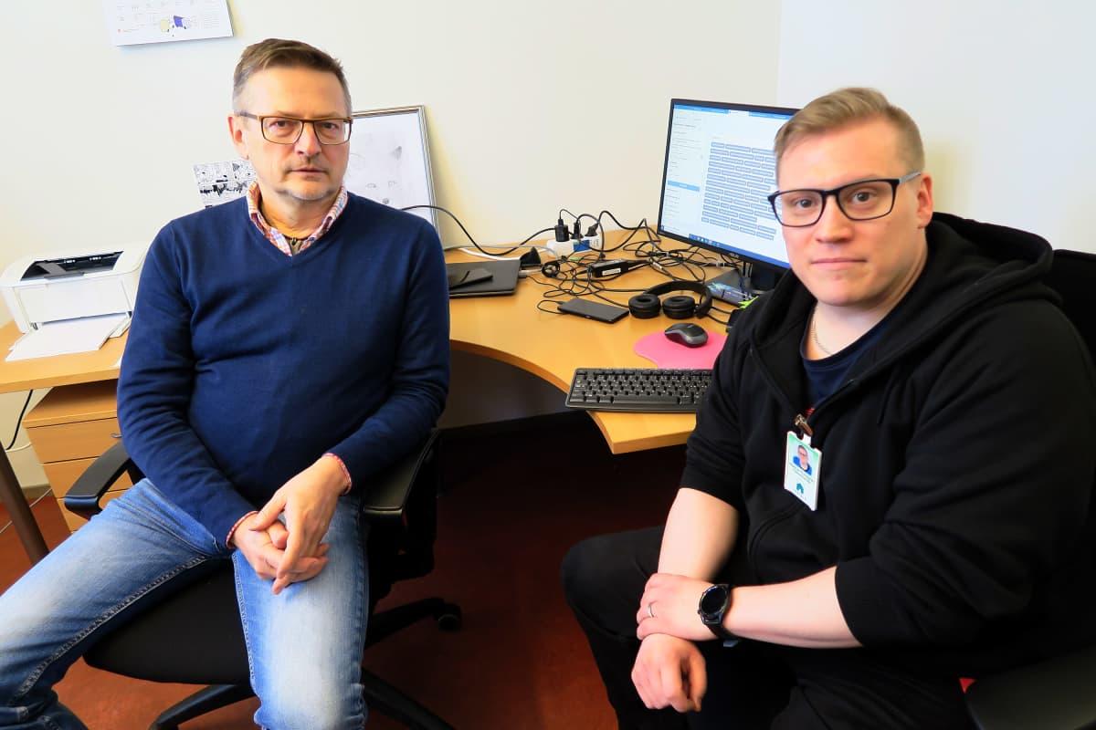 Pekka Gestrin ja Markus Rundgren