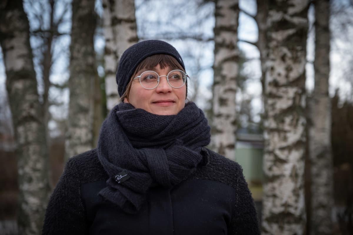 Koneen Säätiön johtaja Anna Talasniemi.