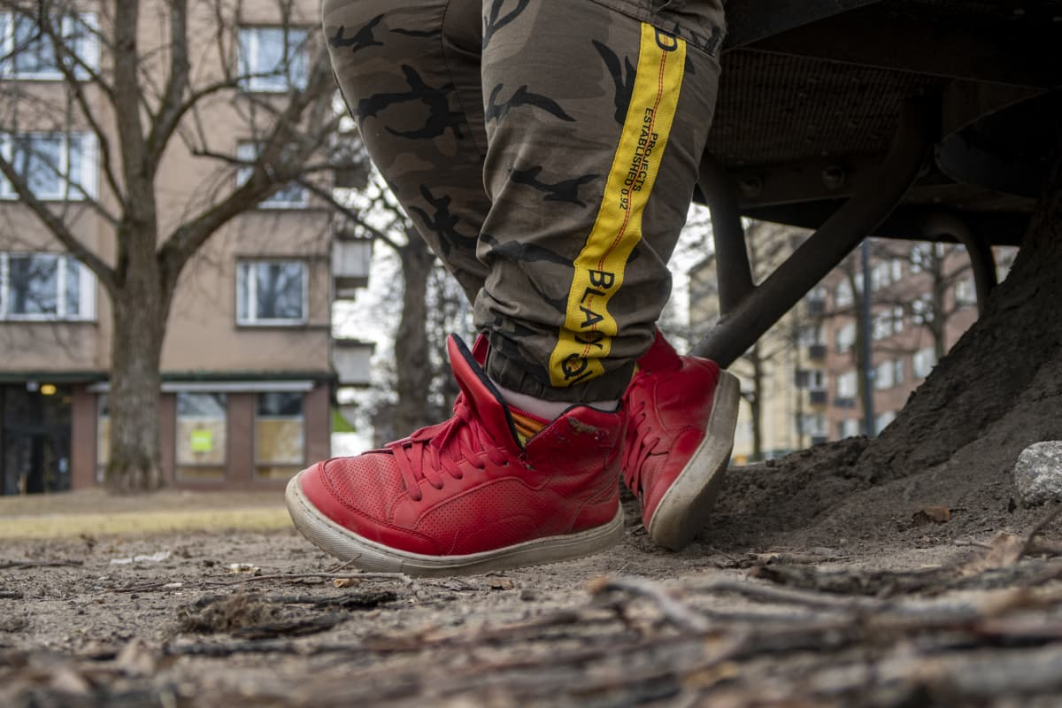 Punaiset kengät