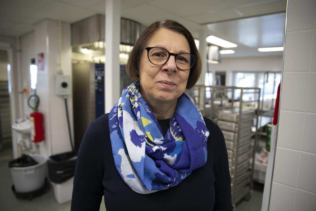 Palmia Oy:n aluepäällikkö Eija Tonteri.