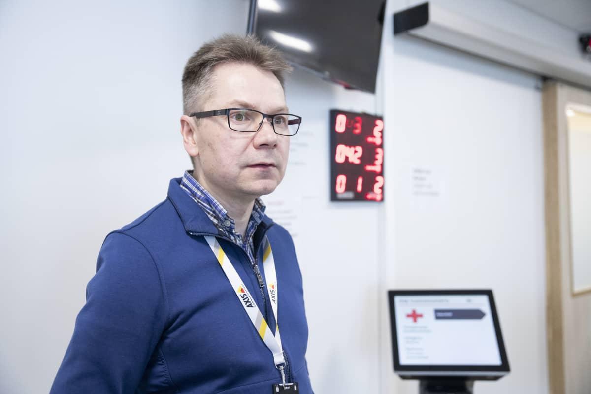 Yrittäjä Jyrki Hällström.
