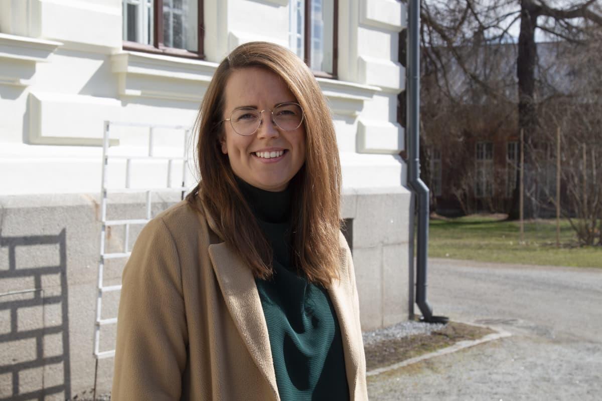 sosiaalityön johtaja Kaisa Bragge