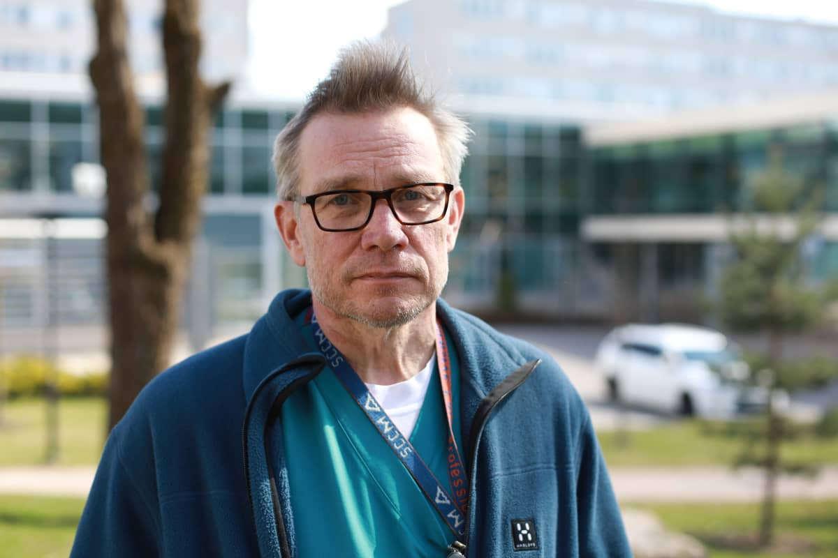 Tehohoidon ylilääkäri Tero Varpula, Jorvin sairaala