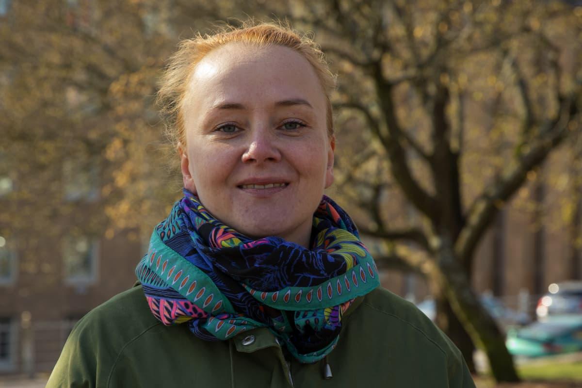 Motivuksesta irtisanottu henkilöstöpäällikkö Anna Englund aikoo jatkossa pyörittää omaa yritystä.