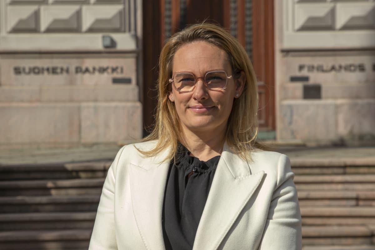 Ennustepäällikkö Meri Obstbaum, Suomen Pankki.
