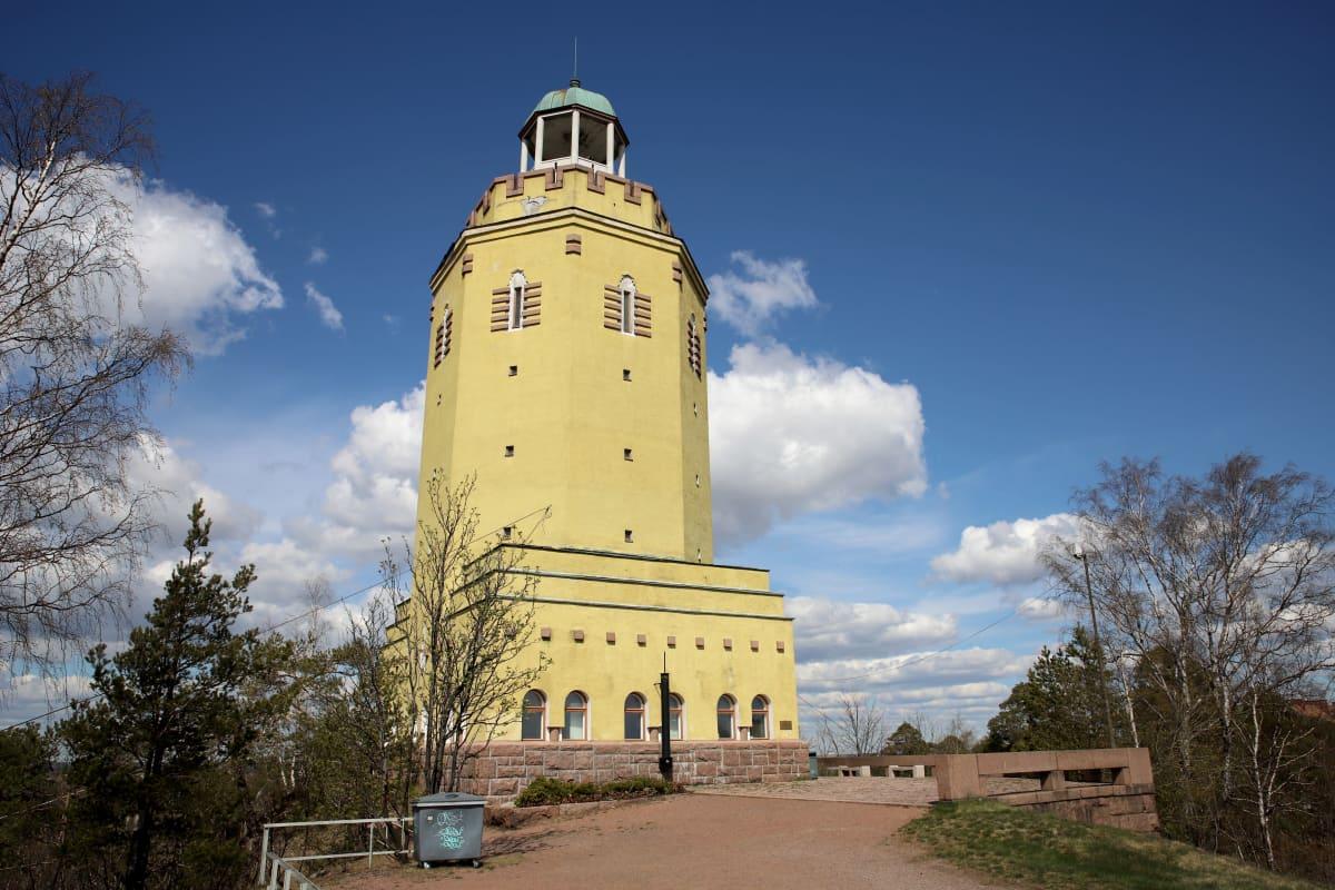 Haukkavuoren näkötorni Kotkassa
