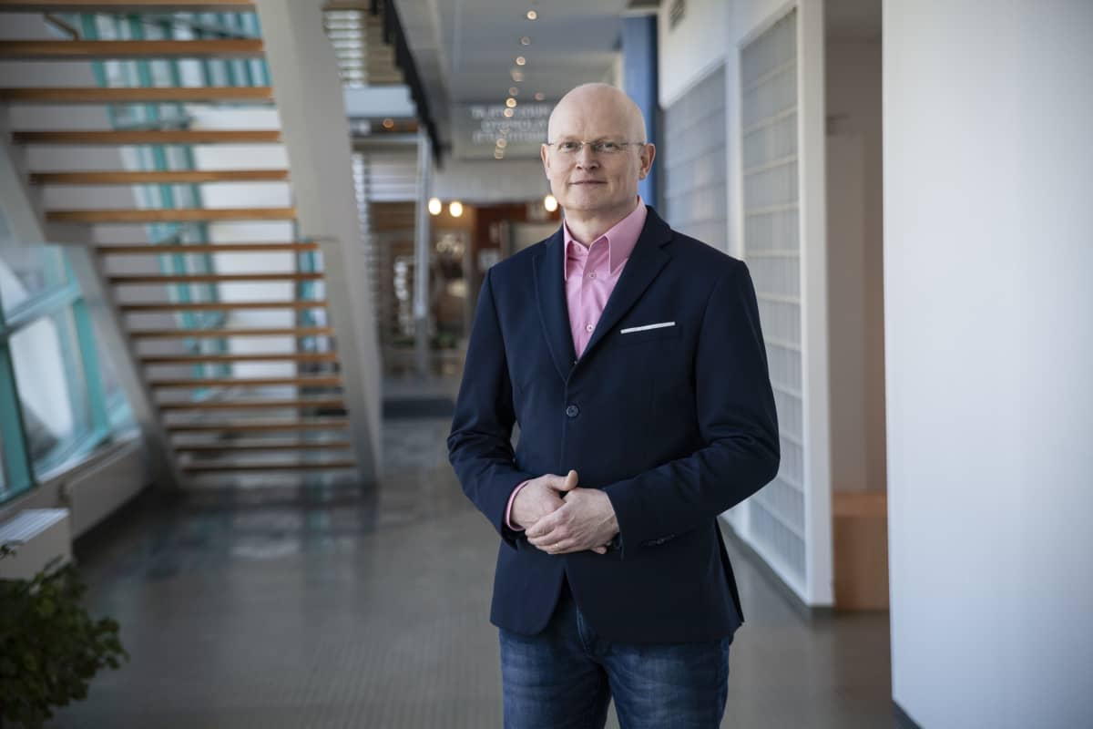 Finvectorin varatoimitusjohtaja Timo Ristola.