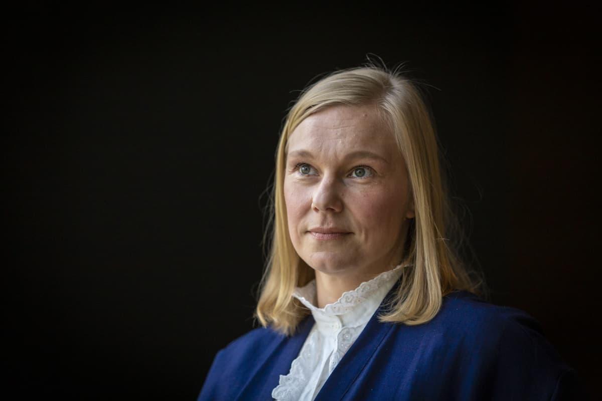 Yleisötyön intendentti Reetta Kalajo Emma.