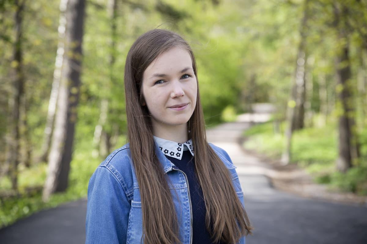 Suomen ylioppilaskuntien liiton hallituksen jäsen Paula Karhunen