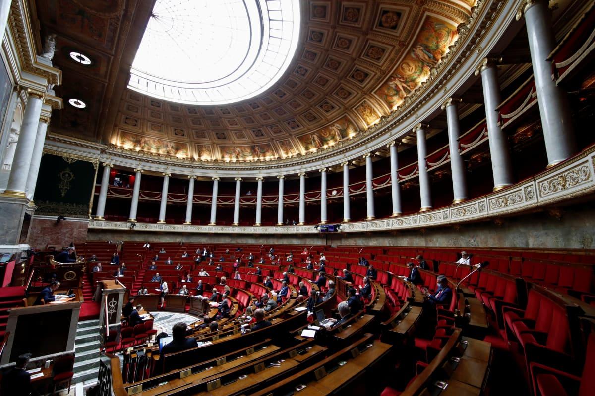 Ranskan kansalliskokous koolla toukokuun 12. päivänä.