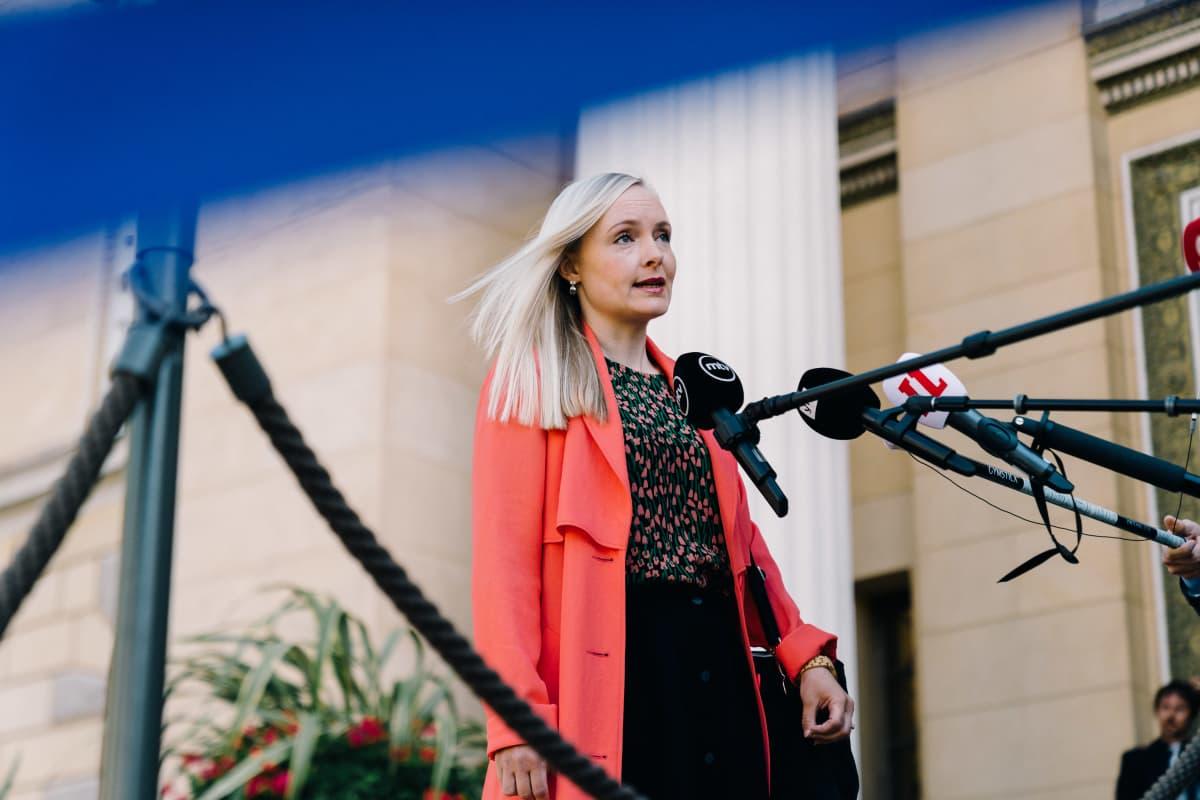 Maria Ohisalo, Säätytalo, 08.07.2020