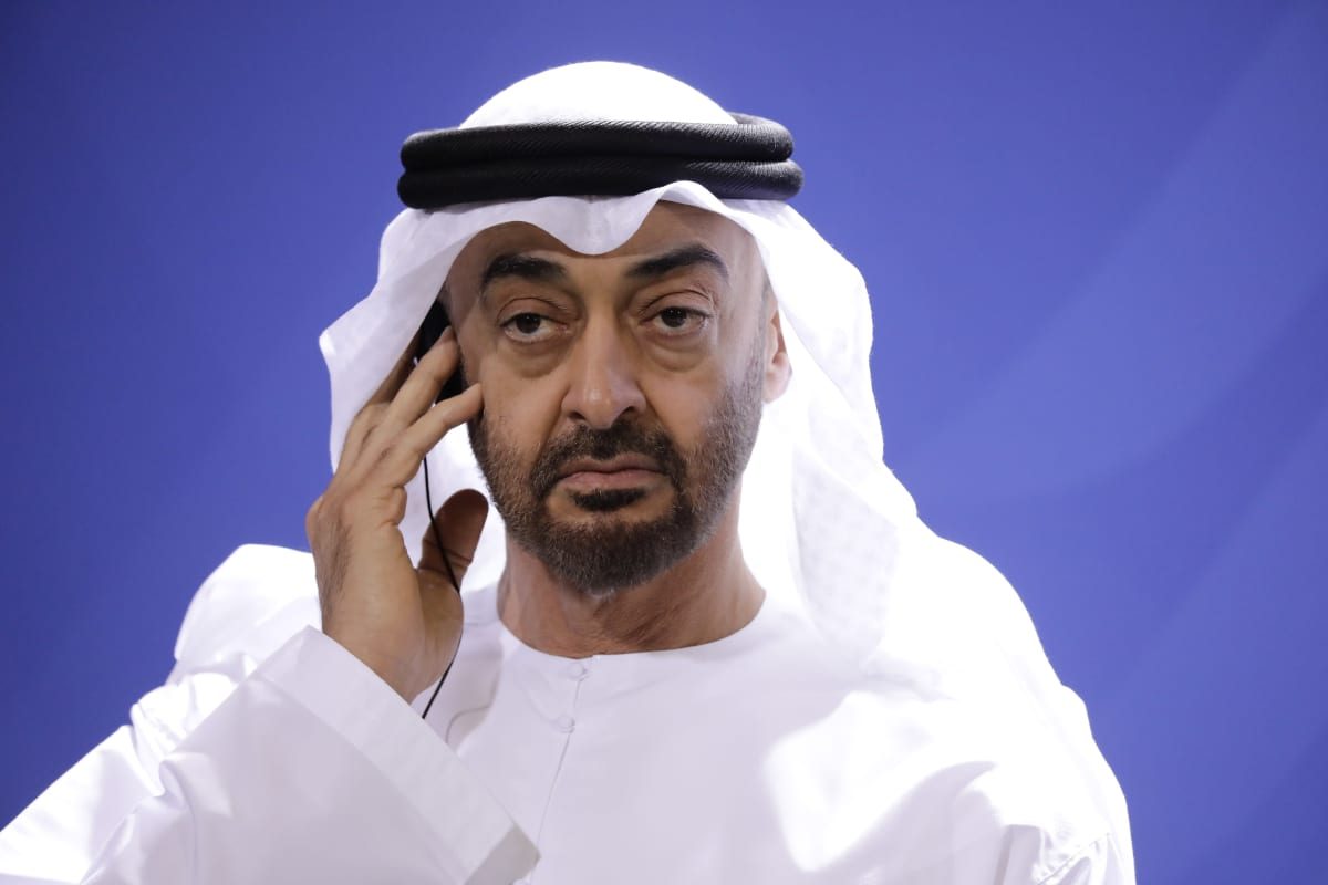 Mohammed bin Zayed.