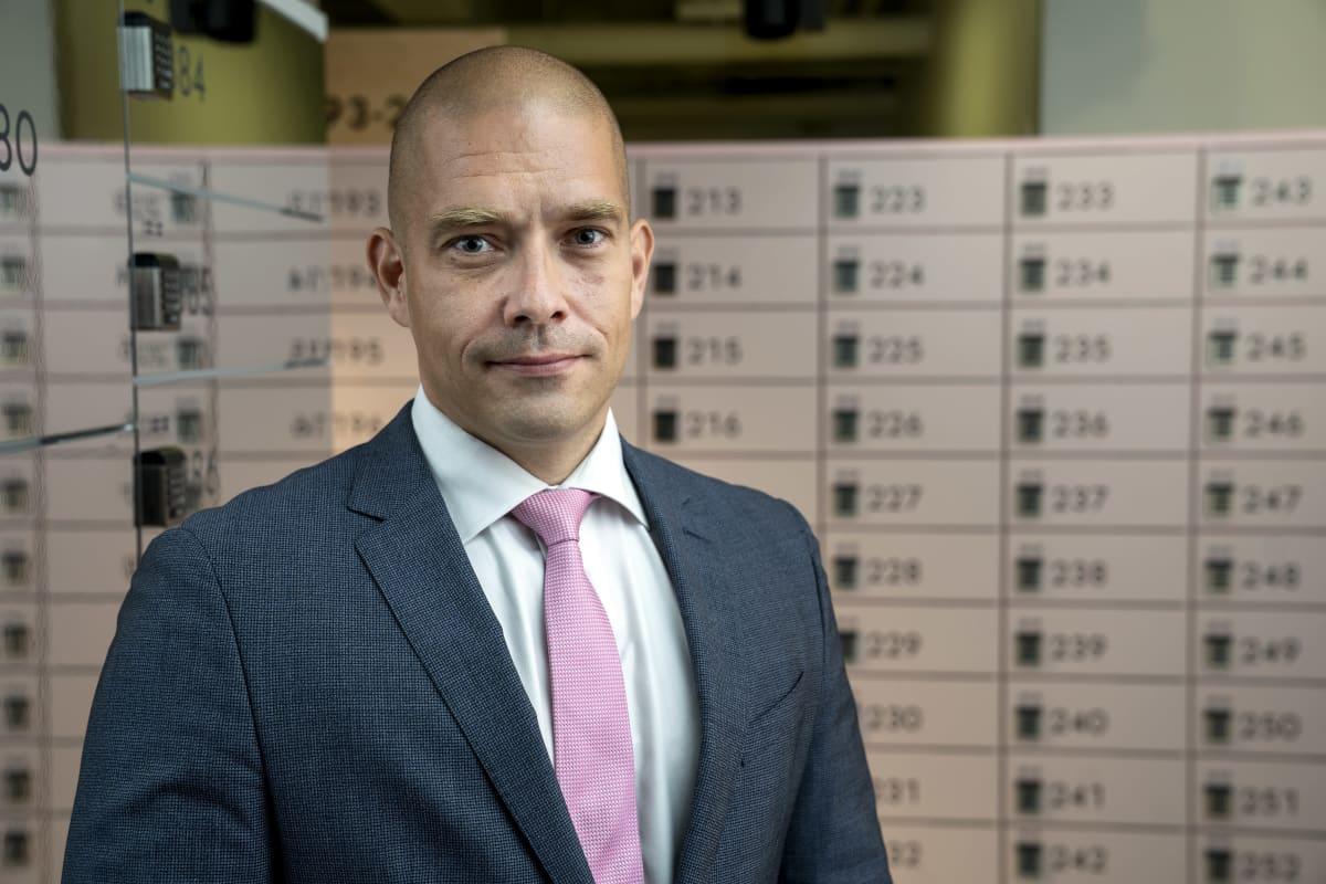 Turkka Kuusisto, Postin toimitusjohtaja.