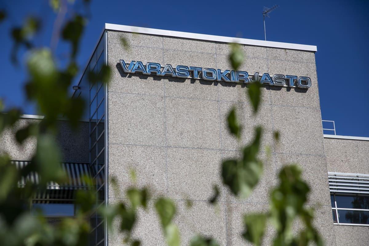 Varastokirjasto Kuopiossa