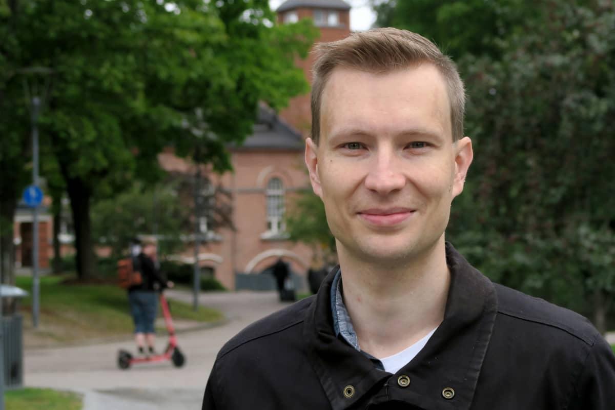 liikenneinsinööri Pekka Stenman