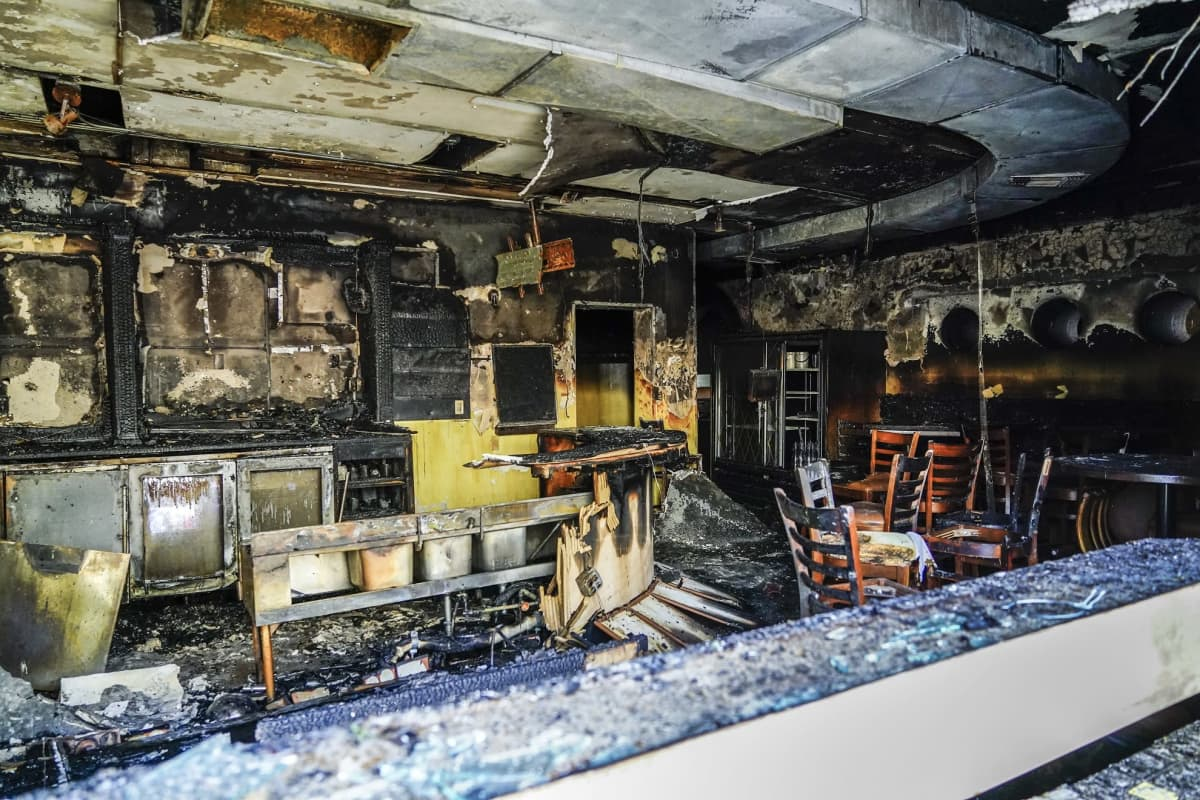 Jacob Blaken ampumista seuranneissa mellakoissa sytytettiin tuleen muun muassa ravintola Kenoshan kaupungissa.