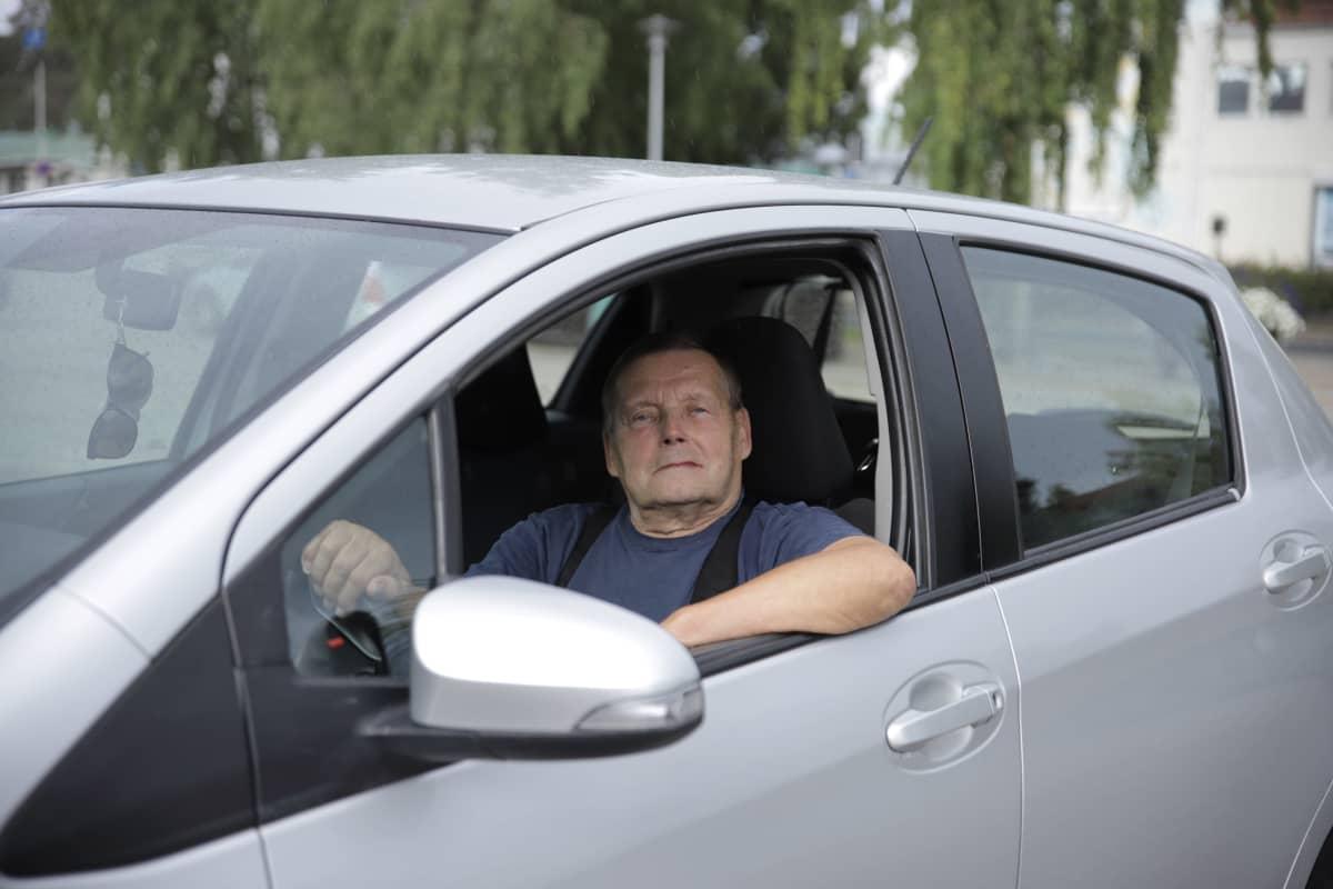 Alpo Pöllänen Kuhmossa 31.8.2020.