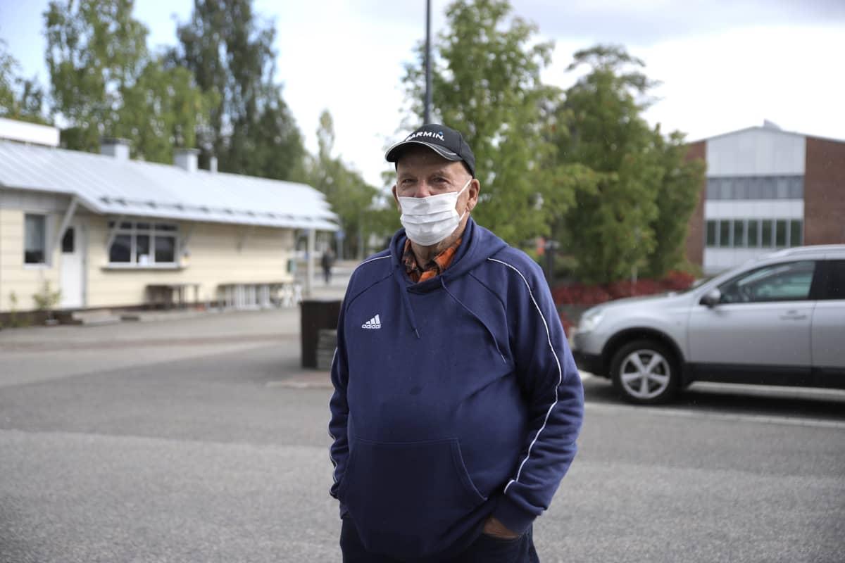 Matti Piirainen Kuhmossa 31.8.2020.